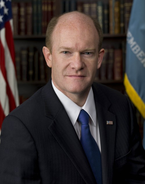 Senator Chris Coons Portrait